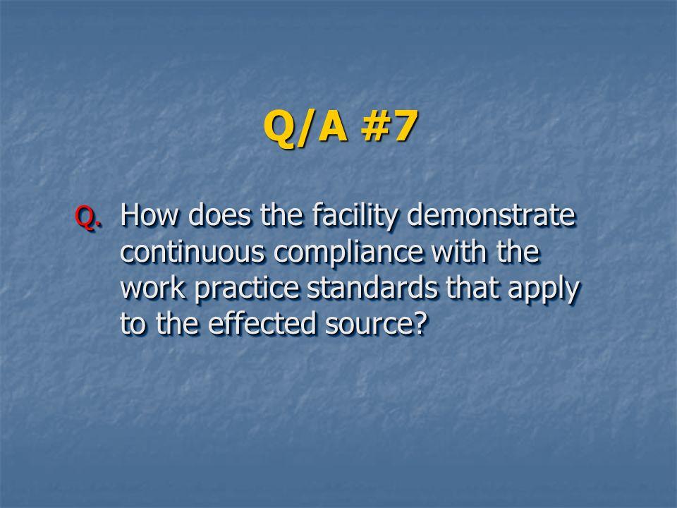 Q/A #7 Q.