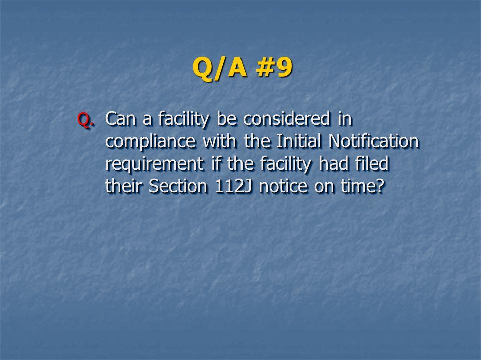 Q/A #9 Q.