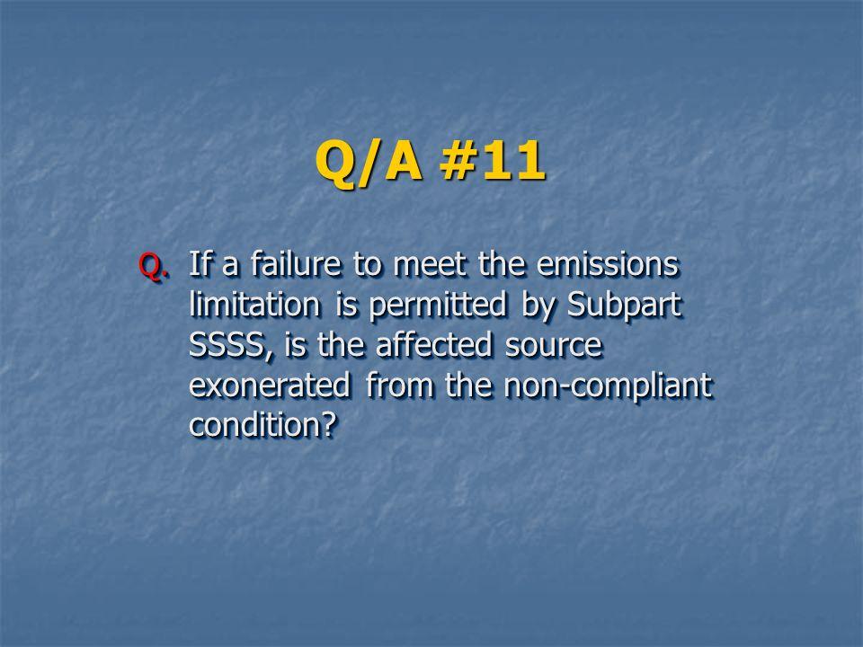 Q/A #11 Q.