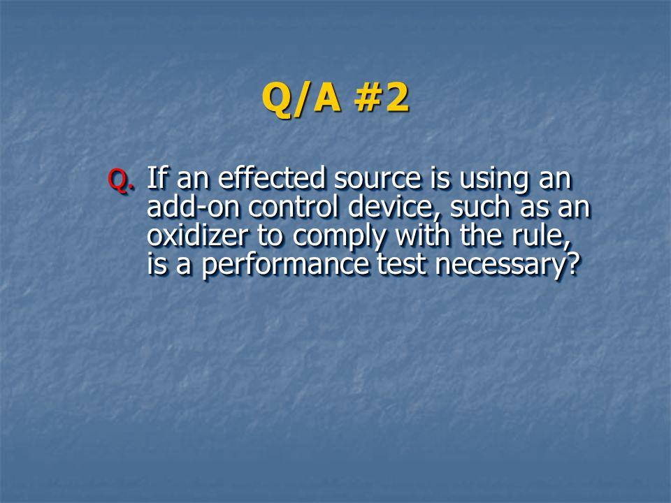 Q/A #2 Q.
