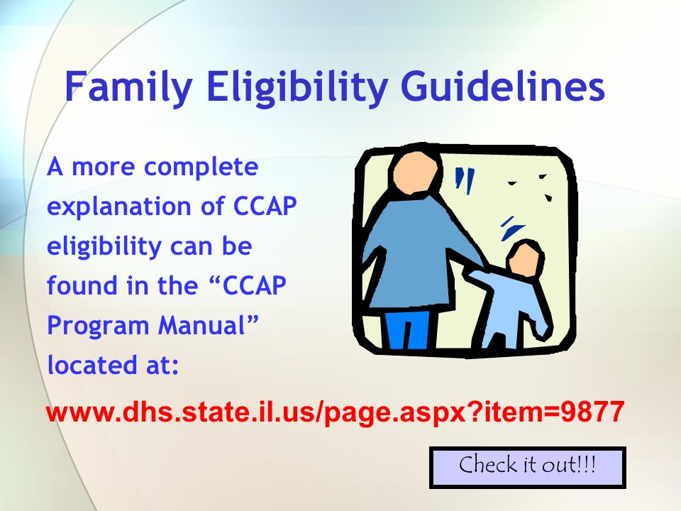 Verification of Family Information Information submitted by the parent/guardian on the application and supporting documentation is verified through various agency databases such as: VERIFICATIONS TANFTANF Food StampsFood Stamps MedicalMedical Employment SecurityEmployment Security Dept.