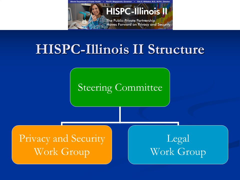 HISPC-Illinois II Structure Steering Committee Privacy and Security Work Group Legal Work Group