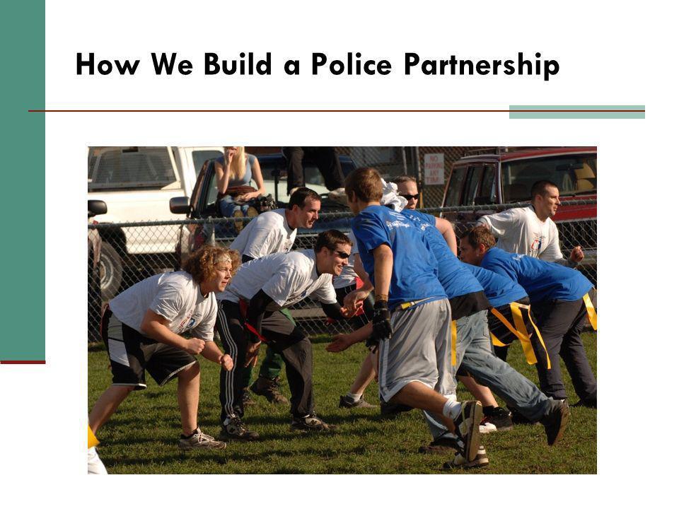 How We Build a Police Partnership