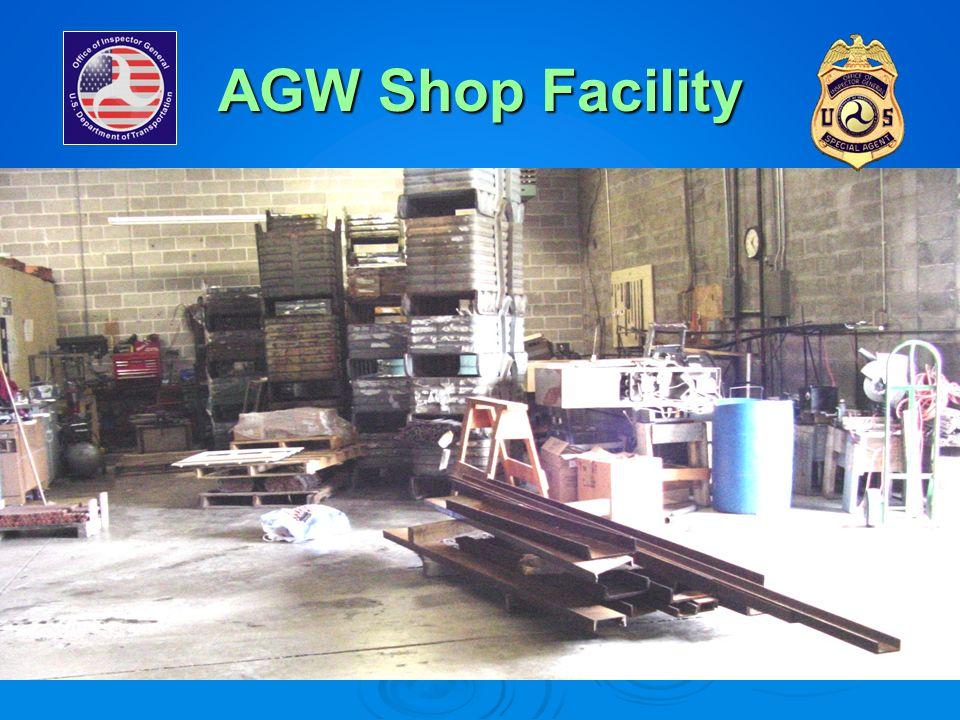 AGW Shop Facility