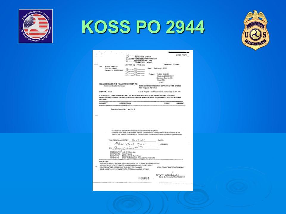 KOSS PO 2944