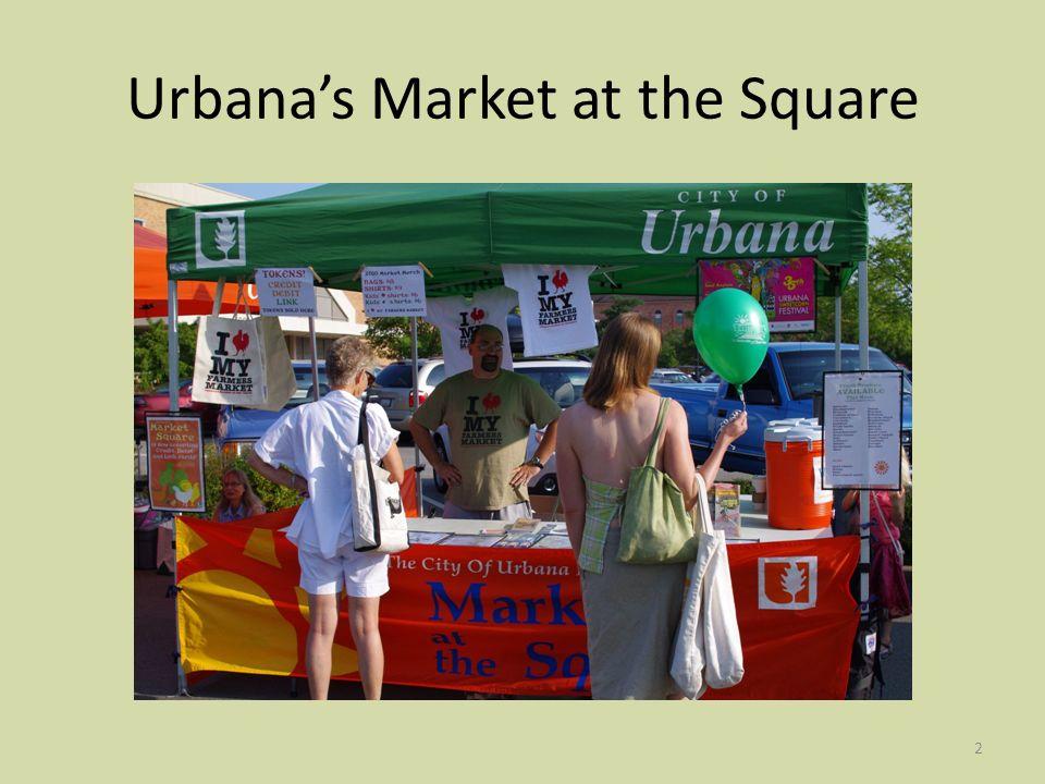 23 Illinois LINK 61 st Street Farmers Market – SNAP Success