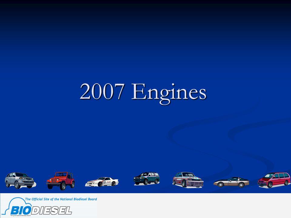 2007 Engines