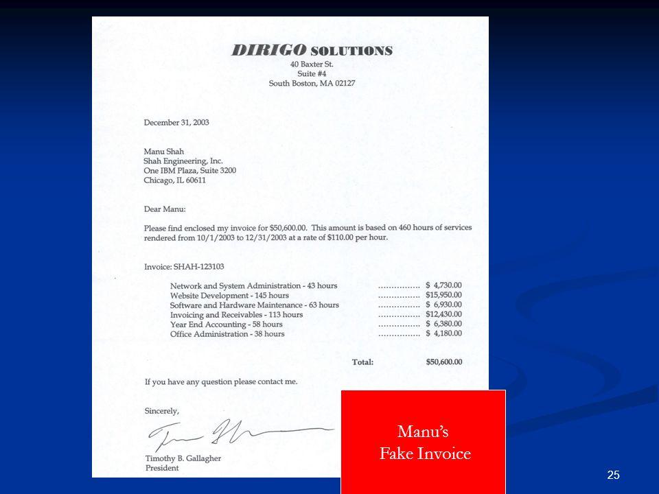 25 Manus Fake Invoice