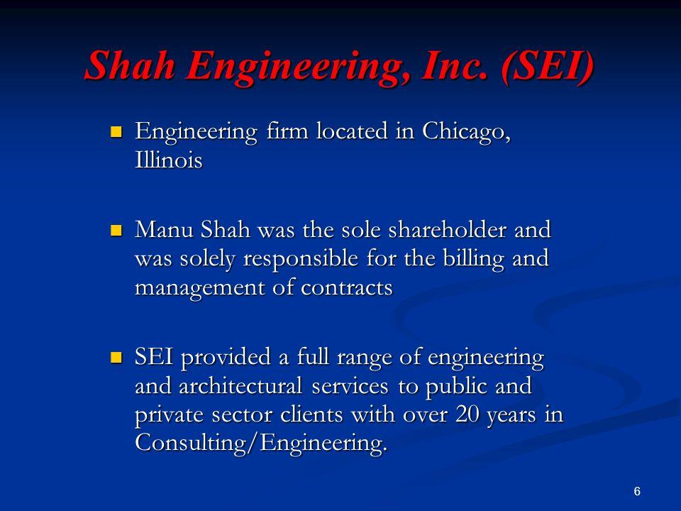 6 Shah Engineering, Inc.