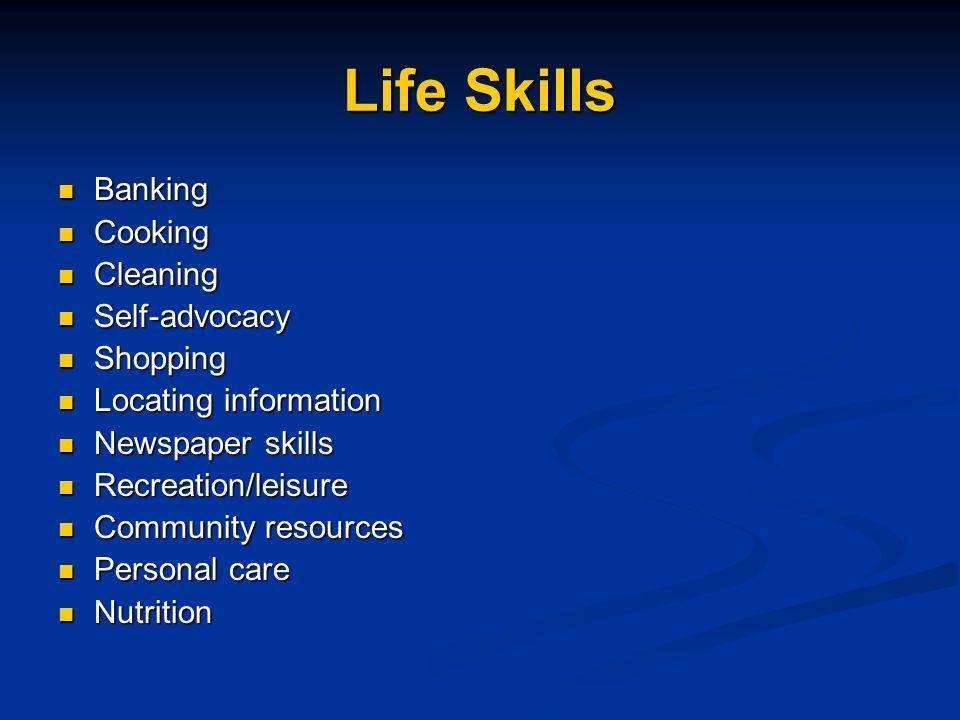 Career & Vocational Skills Resume writing Resume writing Job application writing Job application writing Interviewing skills Interviewing skills Perso