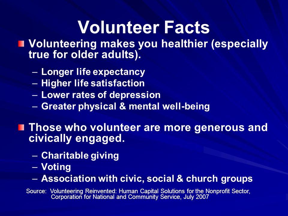 Illinois Volunteering Illinois volunteer rate ranks 25 th among states.