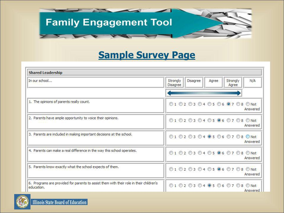 Sample Survey Page
