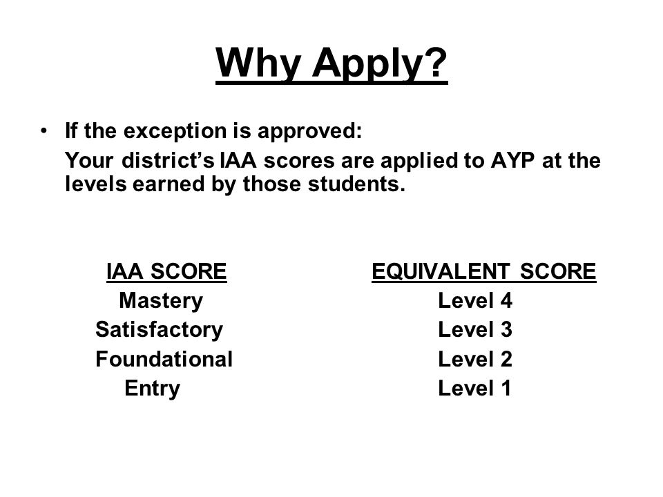 EXAMPLE Your district has 1,000 students in the grades assessed.
