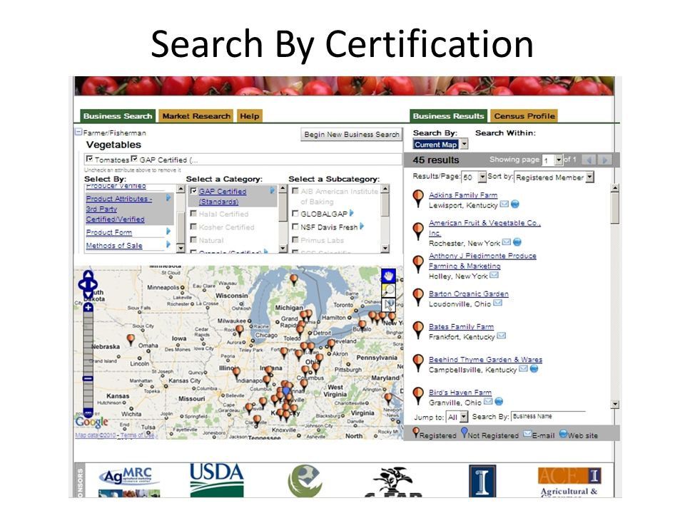 Search By Certification