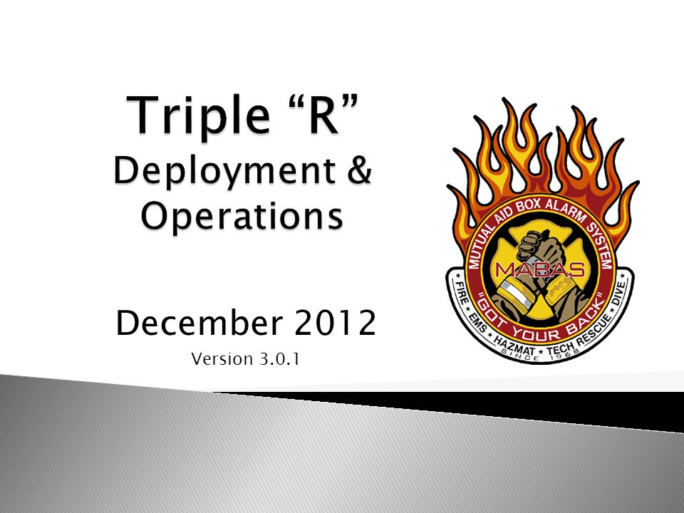 December 2012 Version 3.0.1