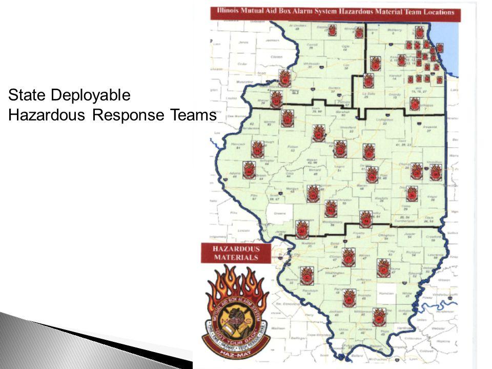 State Deployable Hazardous Response Teams