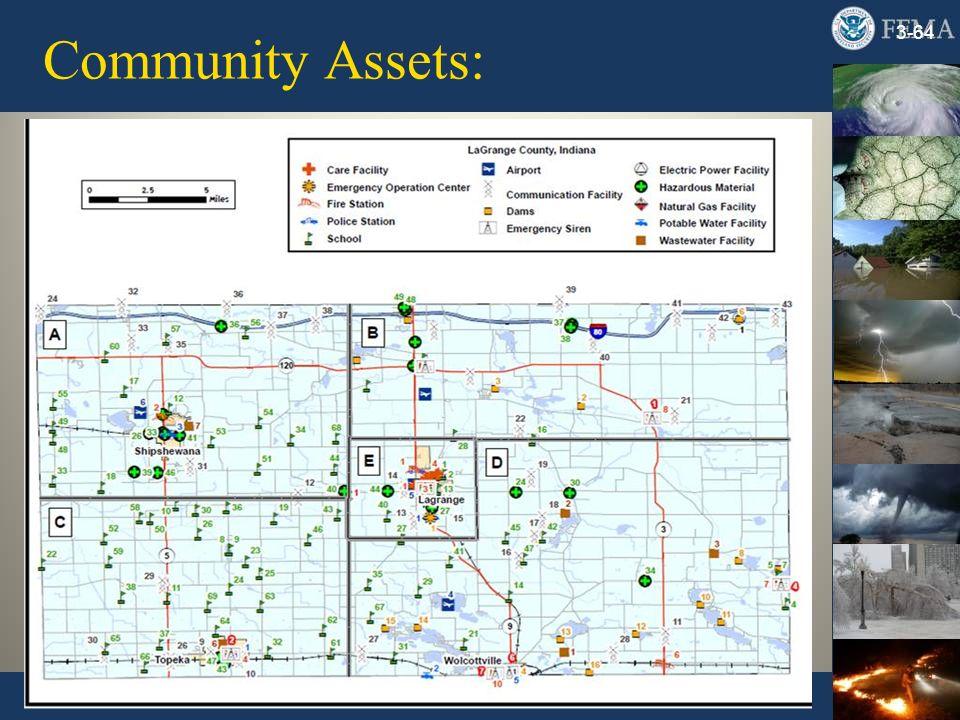 Community Assets: 3-64