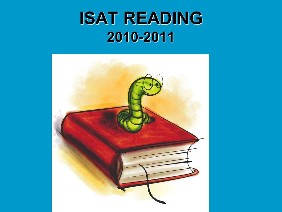 ISAT READING 2010-2011