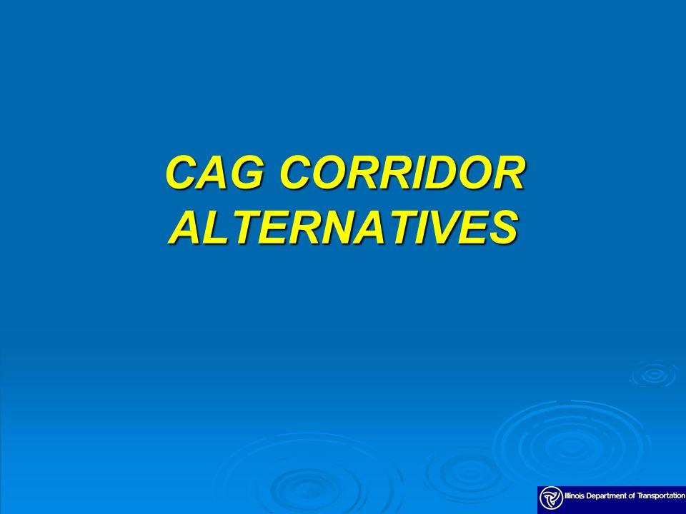 CAG CORRIDOR ALTERNATIVES