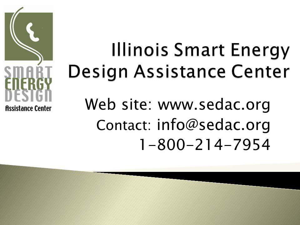 Web site: www.sedac.org Contact: info@sedac.org 1-800-214-7954