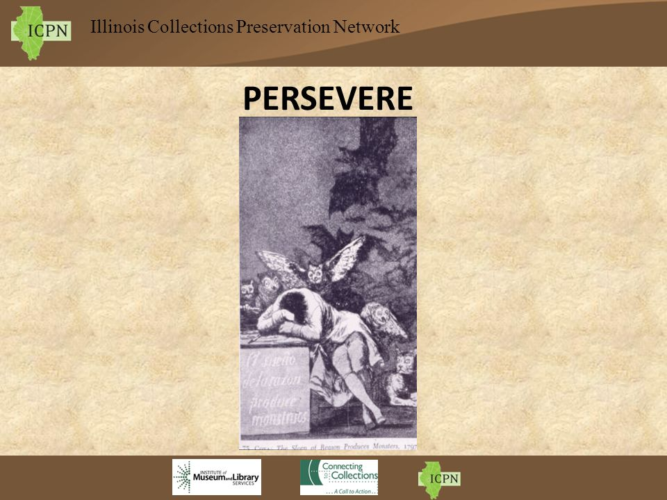 Illinois Collections Preservation Network PERSEVERE