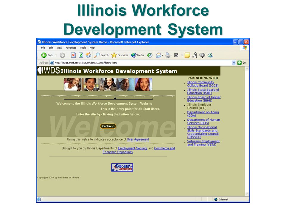 Illinois Workforce Development System