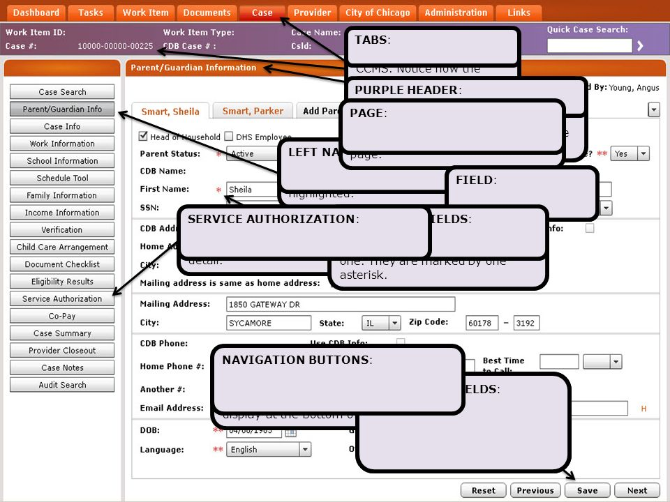 SERVICE AUTHORIZATION: This is what Care Schedules are called in CCMS.