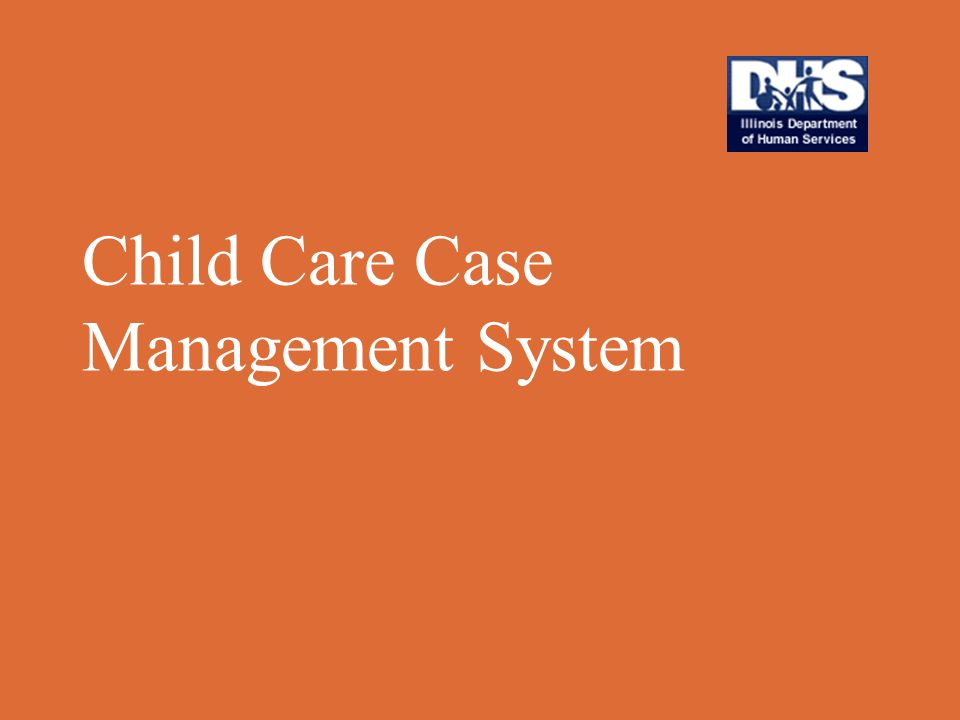 Child Care Case Management System