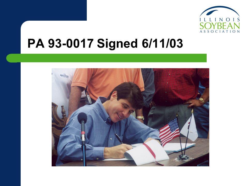PA 93-0017 Signed 6/11/03