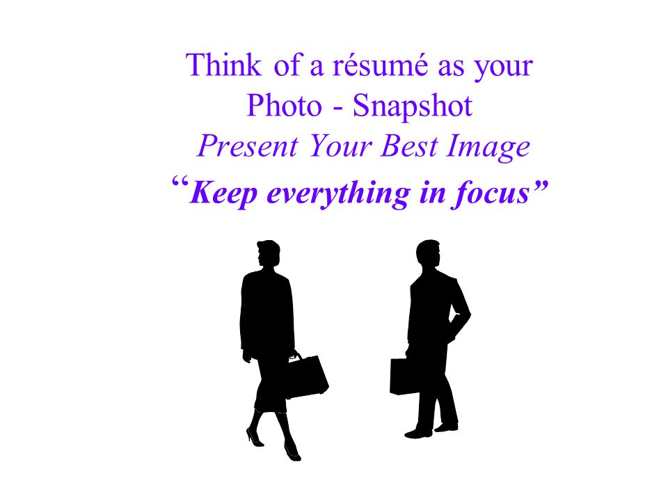 Make a Key Words list.What skills and abilities are listed in the employers job description.