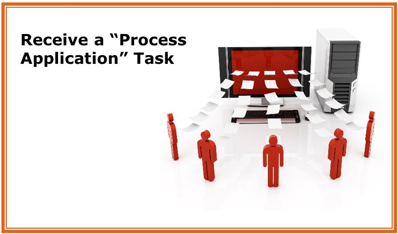 Receive a Process Application Task