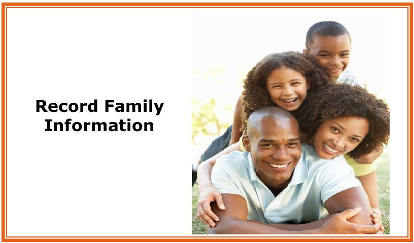 Record Family Information