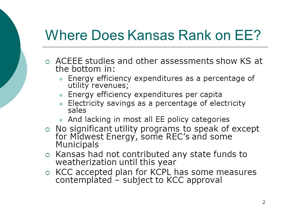 2 Where Does Kansas Rank on EE.
