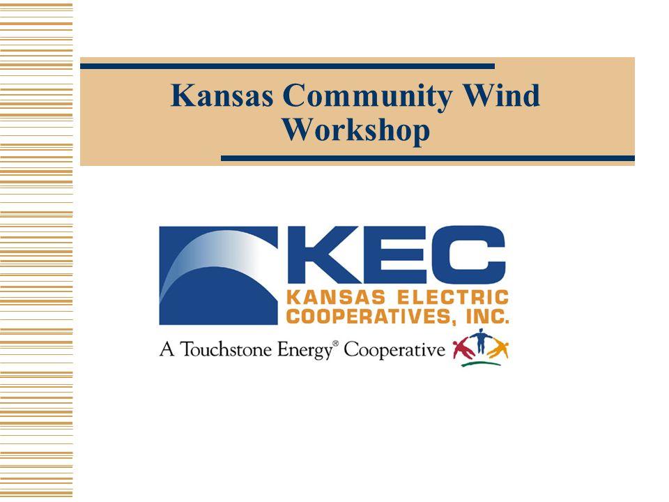 Kansas Community Wind Workshop