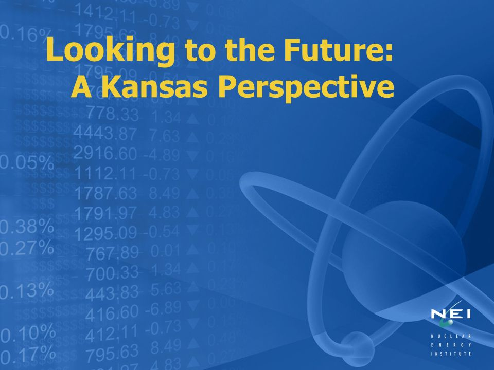 Looking to the Future: A Kansas Perspective