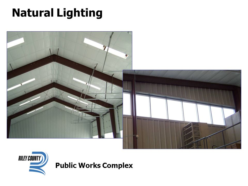 Natural Lighting Public Works Complex