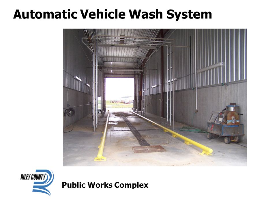 Automatic Vehicle Wash System Public Works Complex