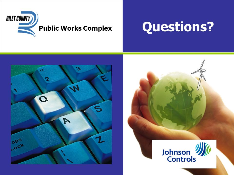Questions Public Works Complex