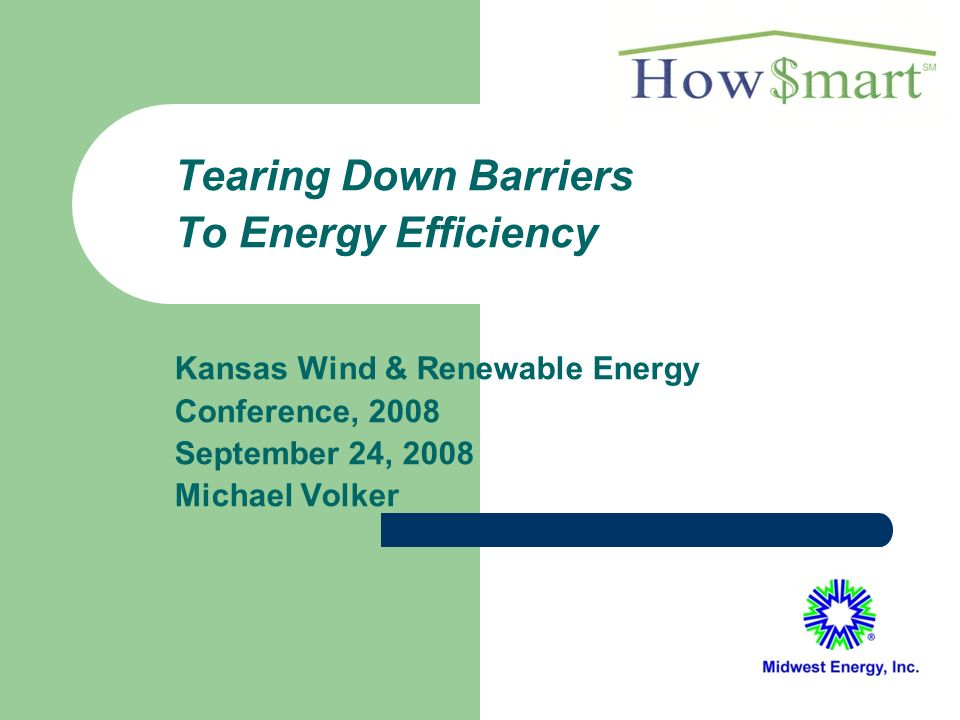 12 Midwest Energy Efficiency Analysis Heat loss/gain calculations Air leakage test IR scan (optional) Furnace combustion check Duct leakage test (optional) Establish and validate a baseline (using sales history)