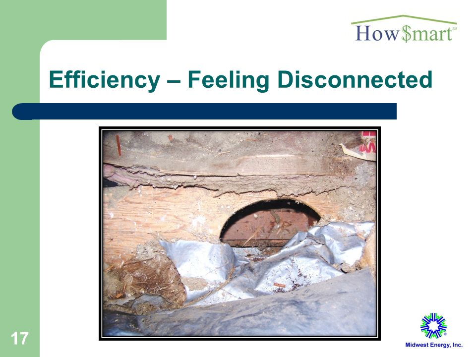17 Efficiency – Feeling Disconnected