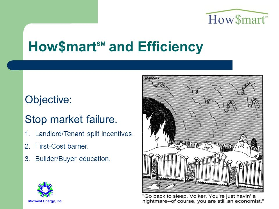 26 Why Do This.Market failure in energy efficiency.