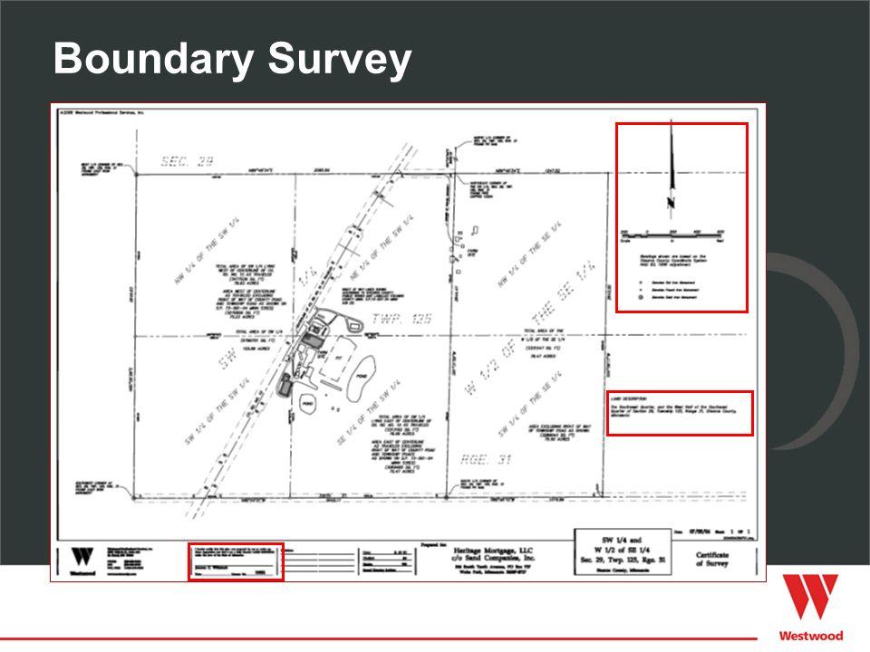 Boundary Survey