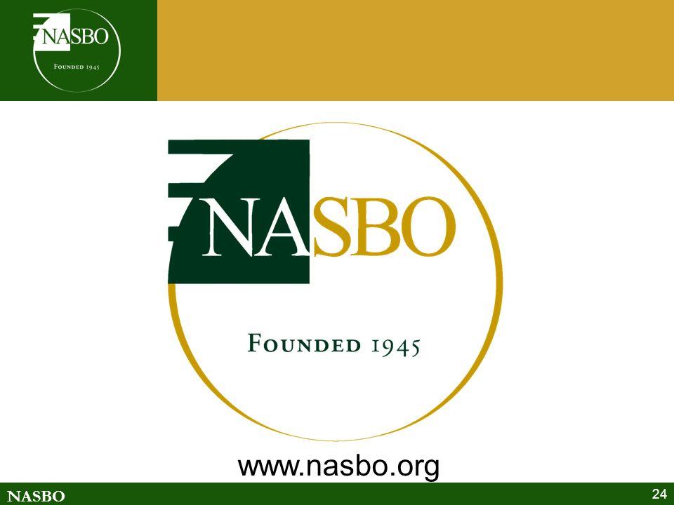 NASBO 24 www.nasbo.org