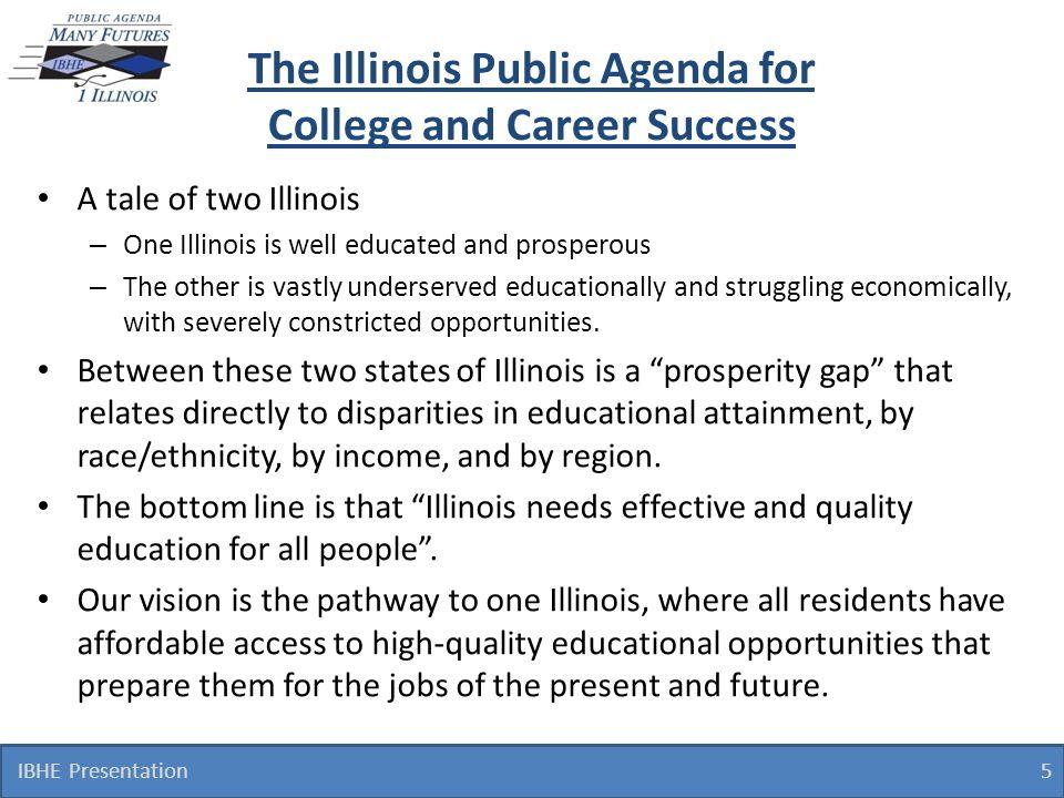 Public Agenda Goals 1.Increase Educational Attainment.