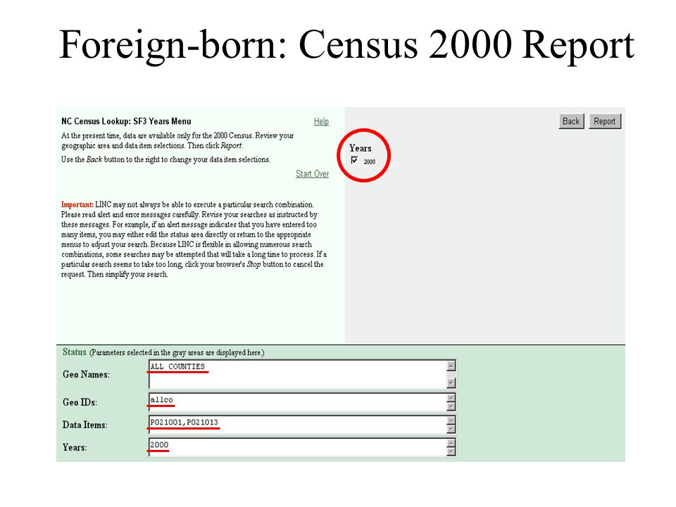 Foreign-born: Census 2000 Report