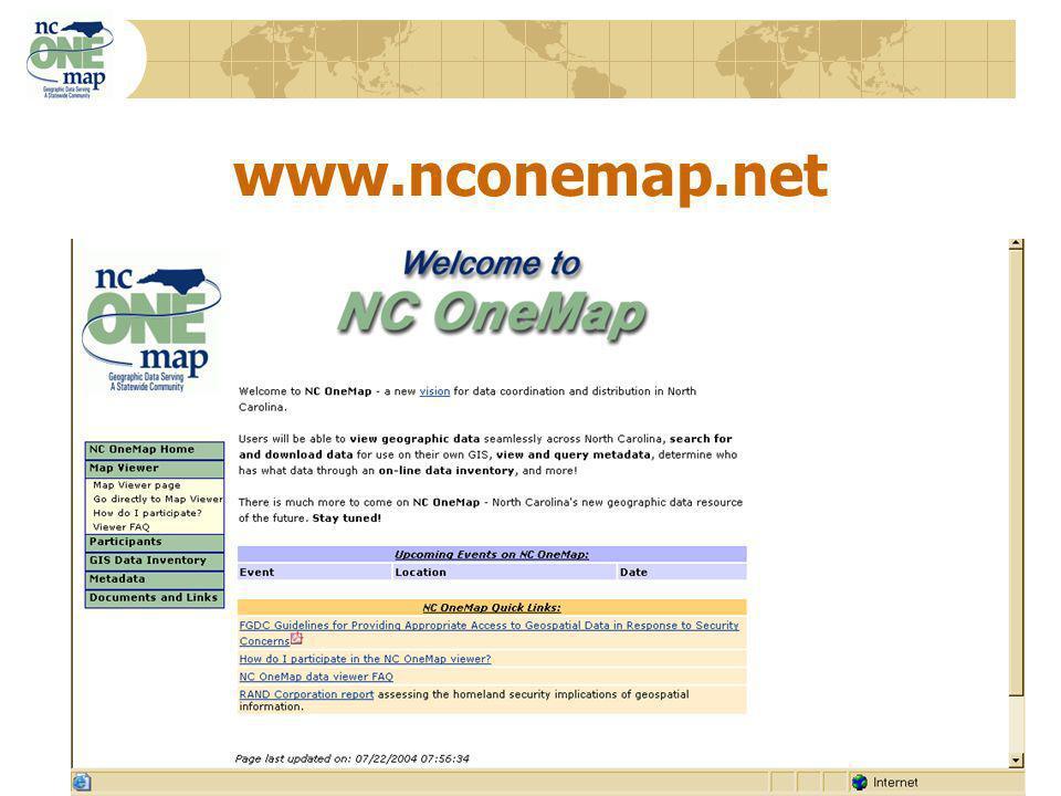 17 www.nconemap.net