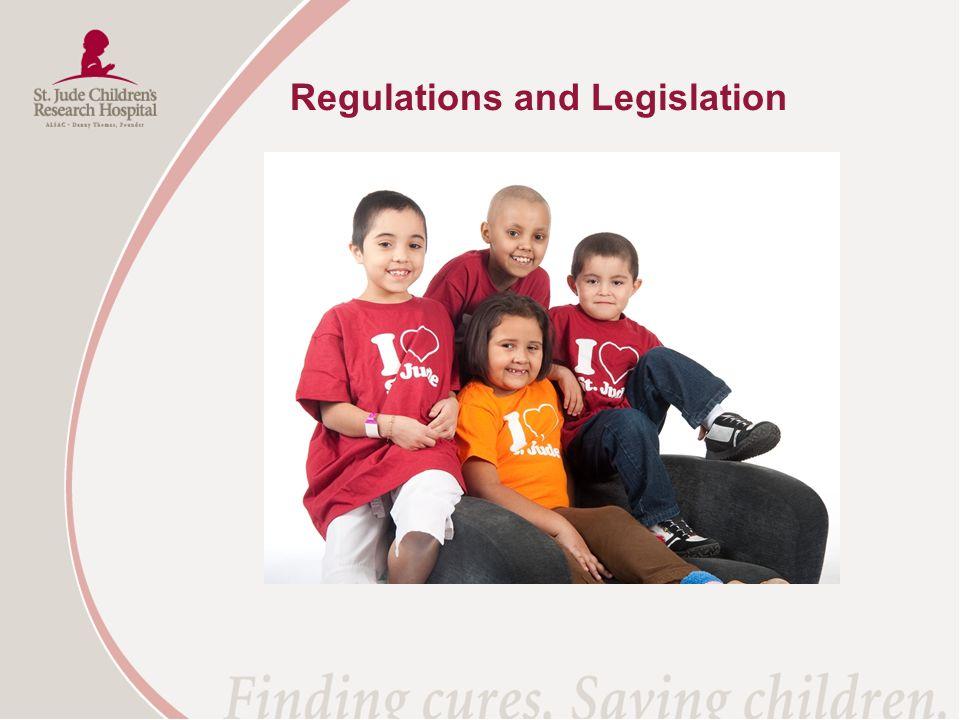 Regulations and Legislation