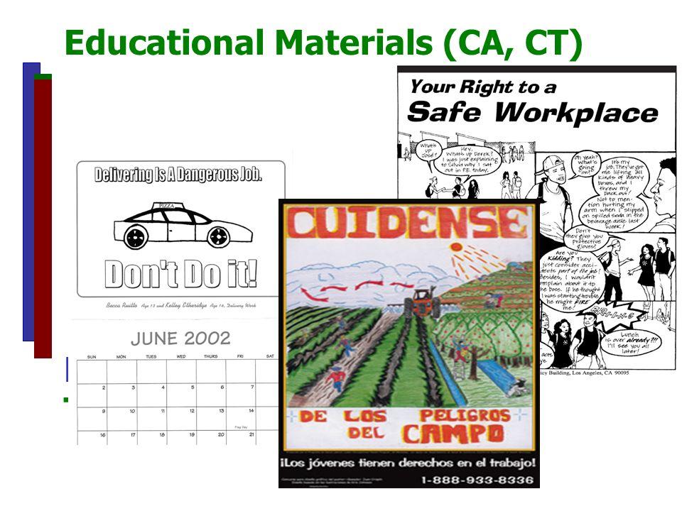 Educational Materials (CA, CT) Educational materials Teens (CA, CT)