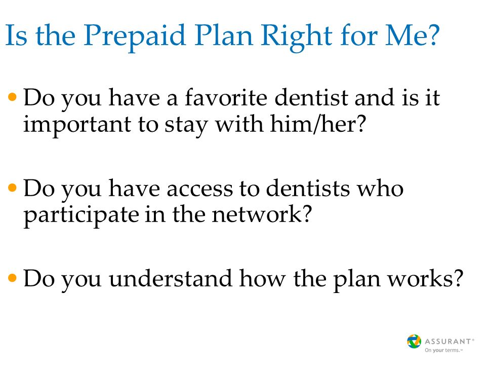 Is the Prepaid Plan Right for Me.