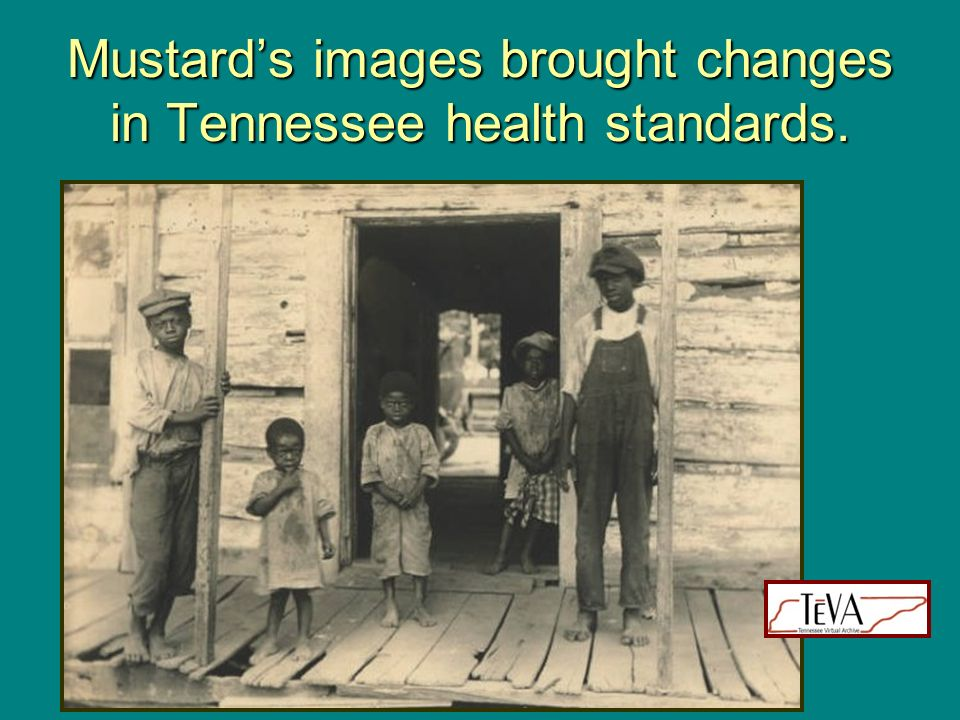 Mustards images brought changes in Tennessee health standards.